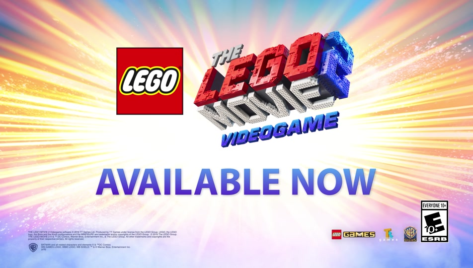 Official THE LEGO® MOVIE 2™ Videogame Launch Trailer
