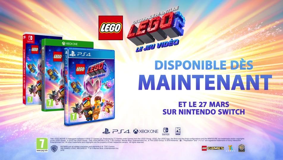 Bande-annonce officielle du lancement du jeu vidéo LA GRANDE AVENTURE LEGO® 2™