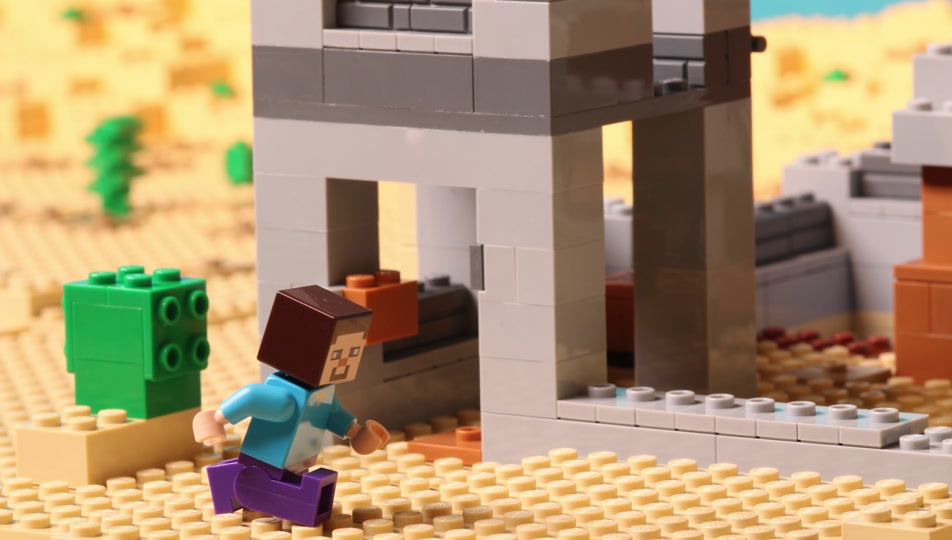 The Desert Outpost - Stop Motion – LEGO® MINECRAFT – Videos - LEGO ...