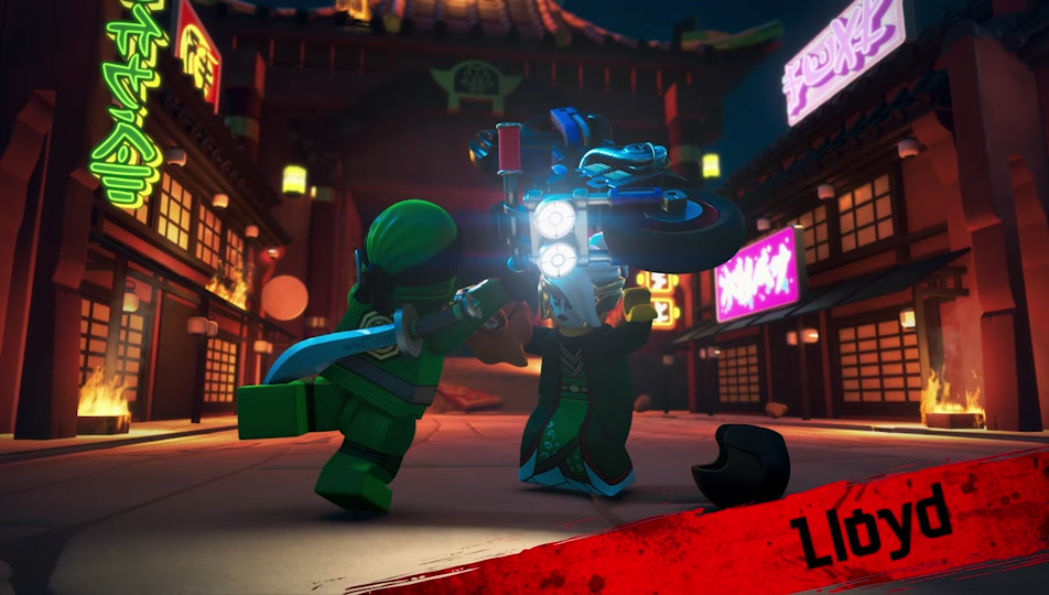 Lego Ninjago Character Video Meet Lloyd Princess Harumi Nya And