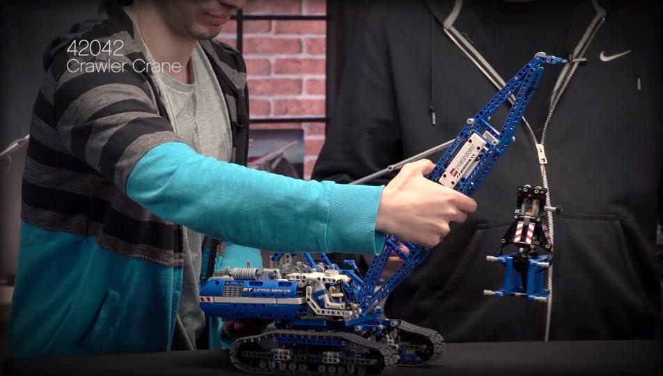 Crawler Crane Designer Video Lego Technic Videos Legocom Us