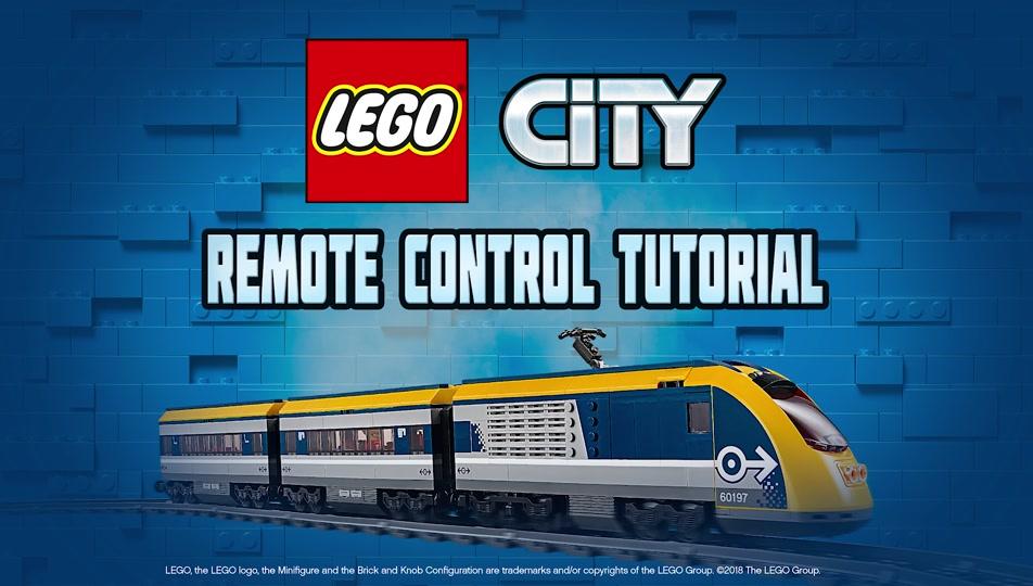 Lego City Train Remote Control Video Lego City Tutorial Video