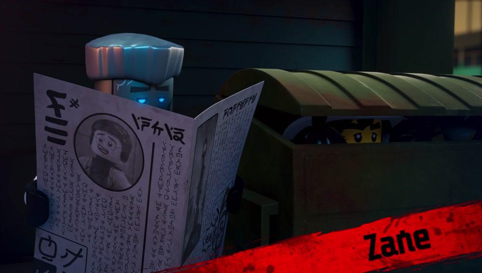 Lego Ninjago Charakter Video Lerne Kai Luke Cunningham Dareth