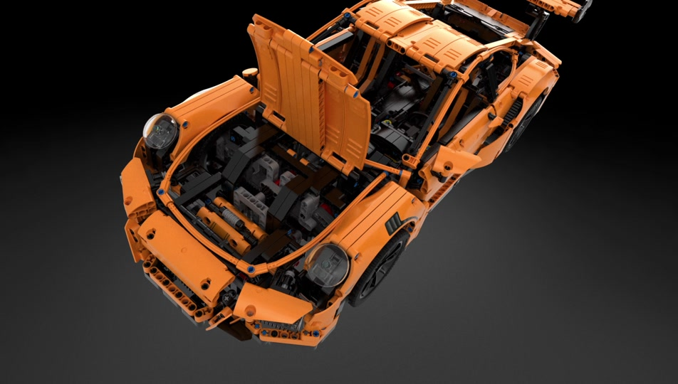 Discover the LEGO Technic Porsche 911 GT3 RS